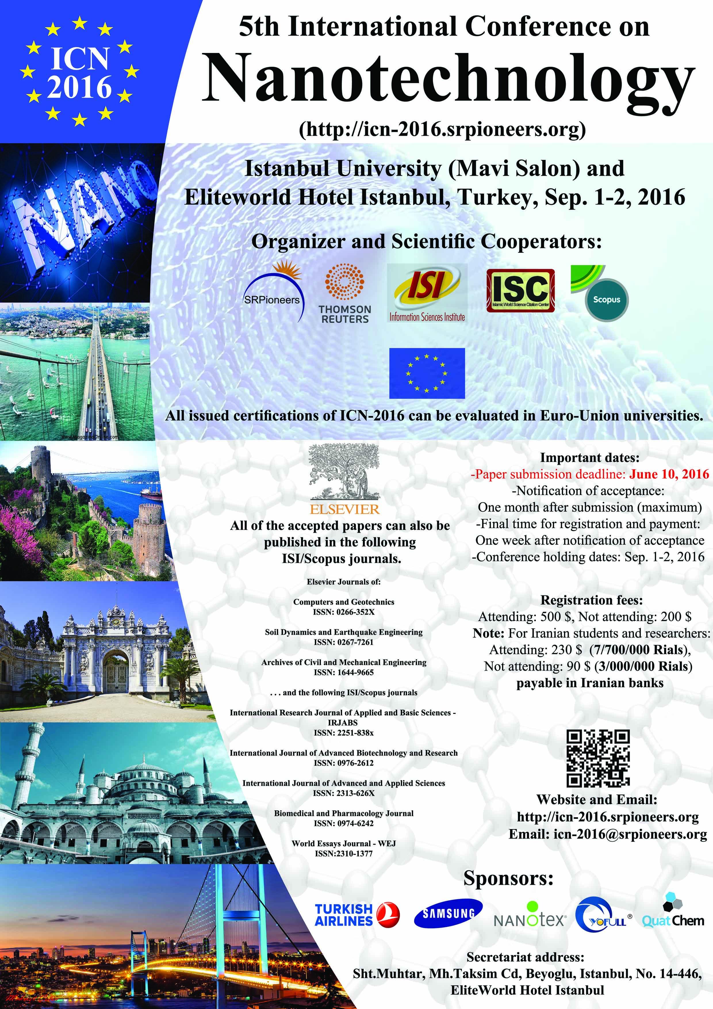 International Conference on Nanotechnology and Basic Science