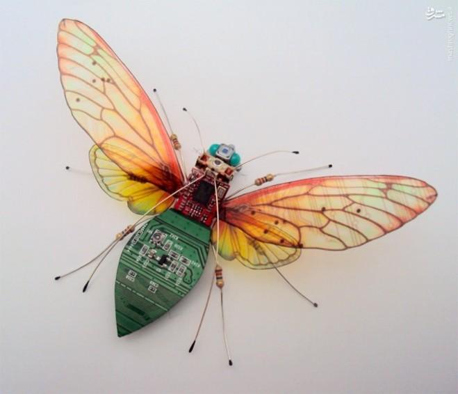 حشرات الکترونیکی